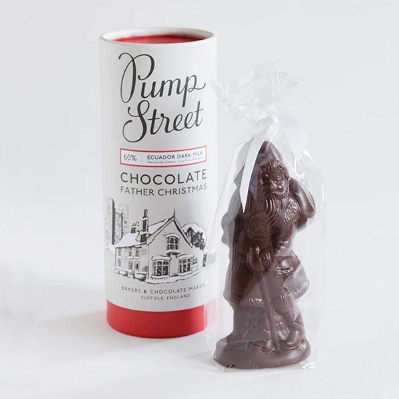 Pump Street Father Christmas chocolate 60%