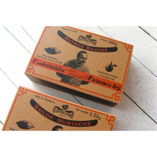 Rózsavölgyi Orange Rind in Chocolate 73% 100g