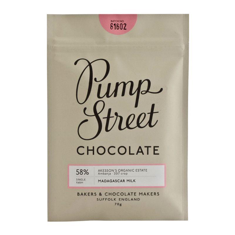 Pump Street Madagascar Milk 58% 70g