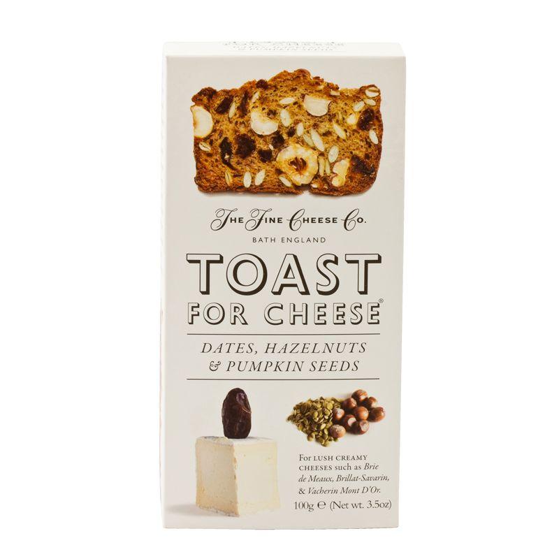 Fine Cheese Toast Date, Hazel & Pumpkin seeds 100g