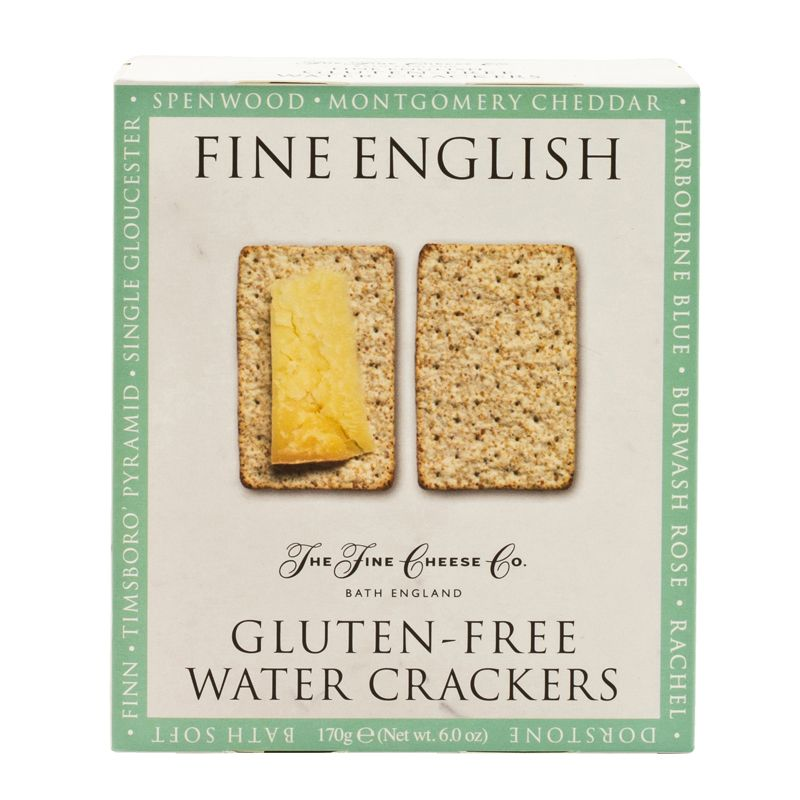 Fine Cheese Gluten Free Water Crackers 170g