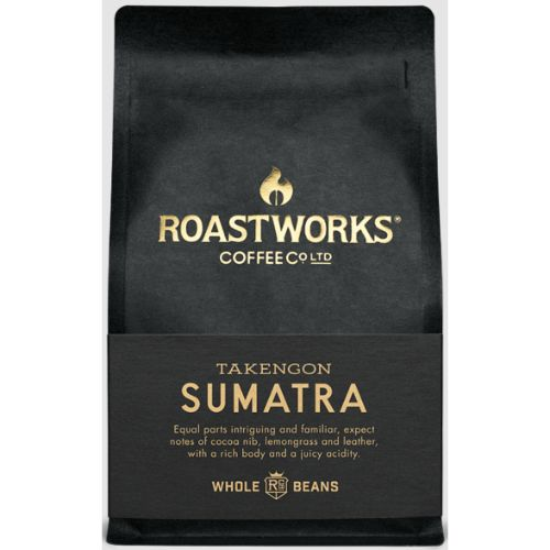 Roastworks Coffee Sumatra Whole Bean 200g