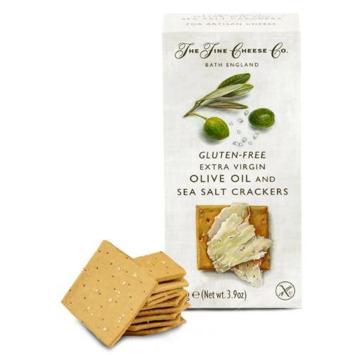 Fine Cheese Gluten Free Sea Salt & Extra Virgin Olive Oil Crackers 100g