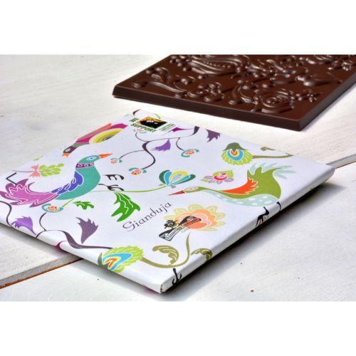 Rózsavölgyi Almond Gianduja 20% in Dark Chocolate 70g