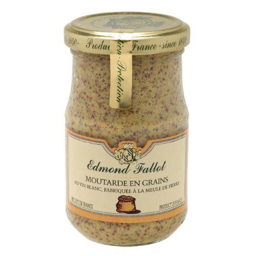 Edmond Fallot Wholegrain Dijon Mustard 210g