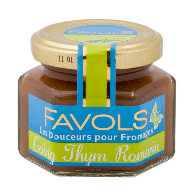 Favols chutney quince thyme 110g