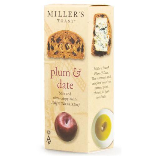 Miller's Toast Plum & Date 100g