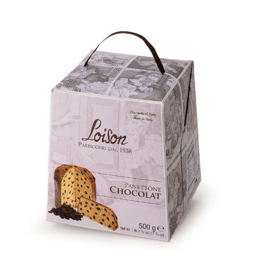 Loison Panettone Dark Chocolate Astucci L948 500g
