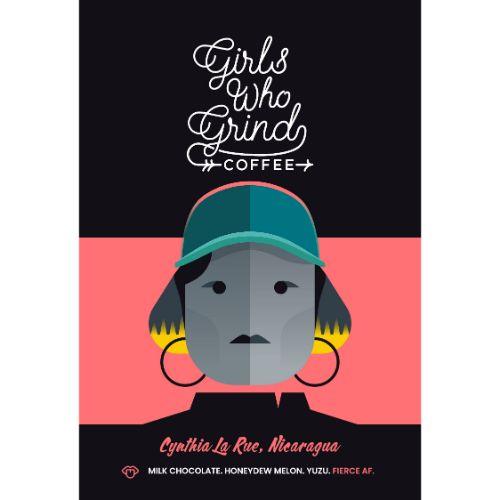 Girls Who Grind Coffee Cynthia La Rue GROUND 250g