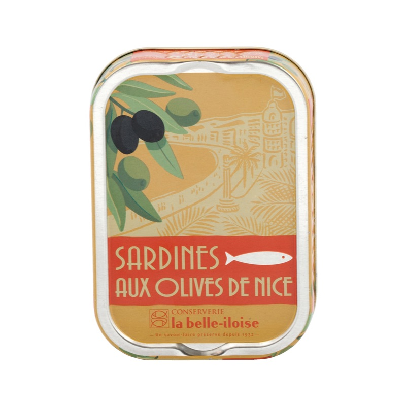 Belle Iloise Sardines with Nice olives 115g