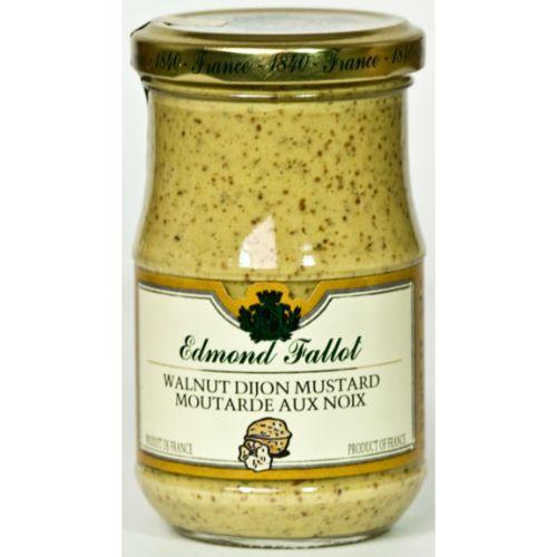Edmond Fallot Dijon Mustard with Walnut 210g