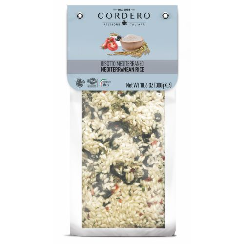 Cordero Risotto Mediterranean with Olives and Capers 300g