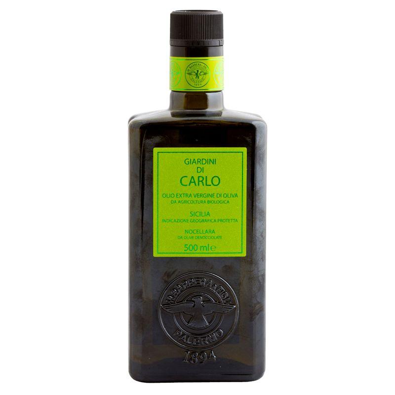 Barbera Giardini di Carlo Organic EV olive oil 500ml