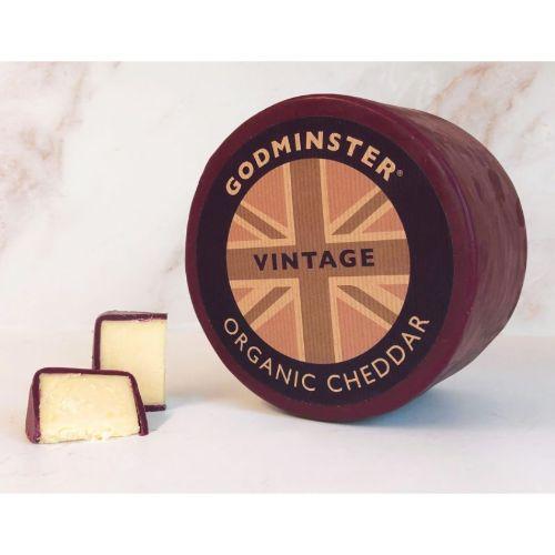 Godminster Vintage Organic Cheddar 2kg GOD
