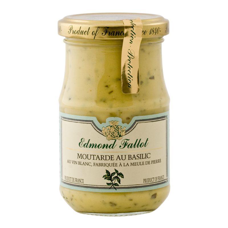 E.Fallot Dijon Mustard with basil 205g