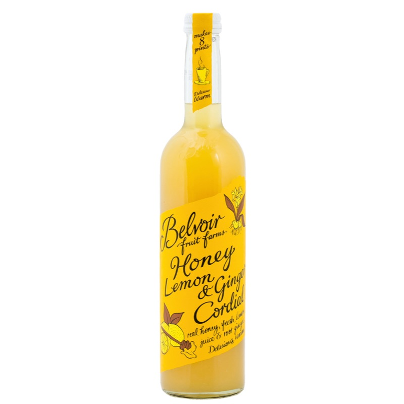 Belvoir Cordial Honey Lemon Ginger 500ml