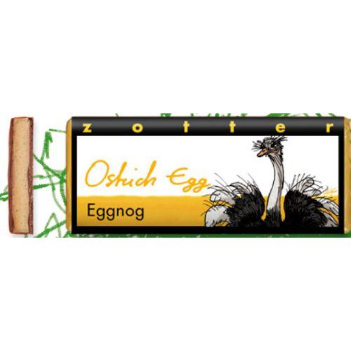 Zotter Ostrich Eggnog 70g