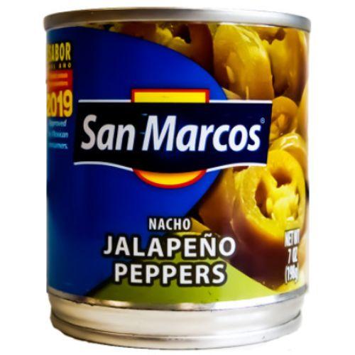 San Marcos Jalapeno Nacho Slices 198g