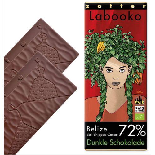 Zotter Labooko Belize Dark 72% 70g