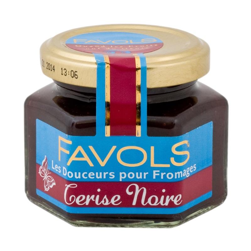 Favols chutney black cherry 110g