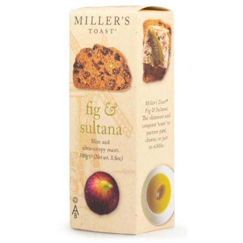 Miller's Toast Fig & Sultana 100g
