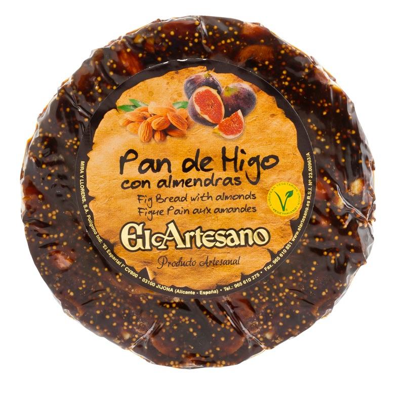 El Artesano Pan de Higo Con Almendras 200g
