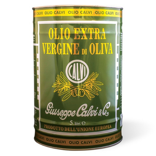 Calvi Extra Virgin Olive Oil, 5l, Metal Tin