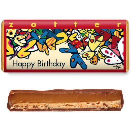 Zotter Happy Birthday 70g
