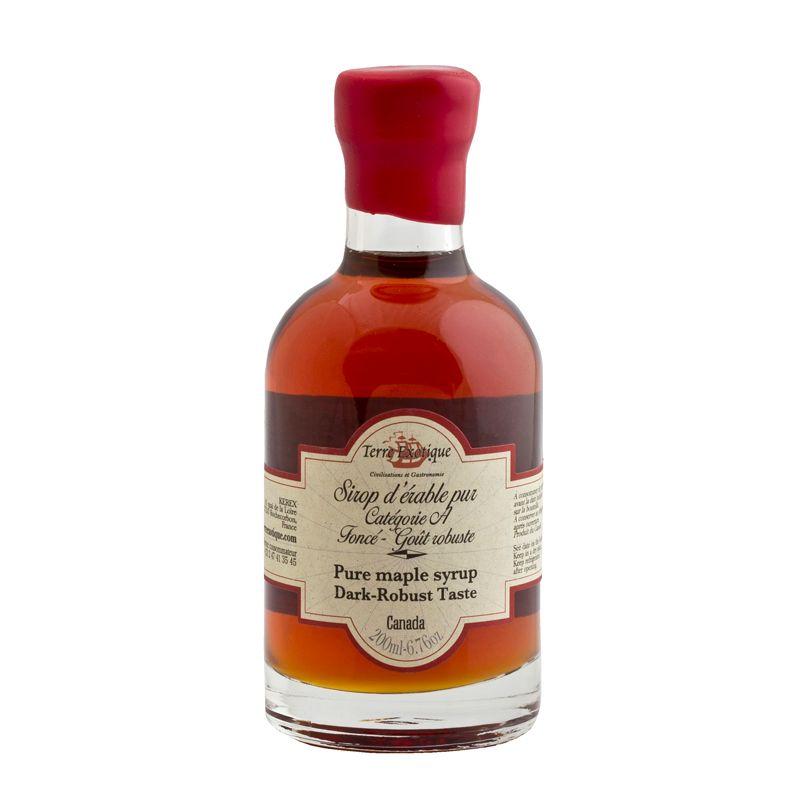 Terre Ex. Pure Maple Syrup Dark Robust Taste 200ml