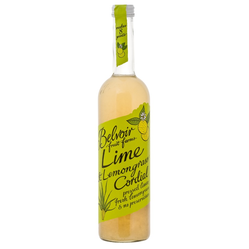 Belvoir Cordial Lime Lemongrass 500ml