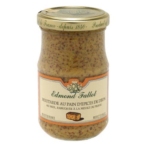 Edmond Fallot Dijon Mustard with Gingerbread Spices 100g