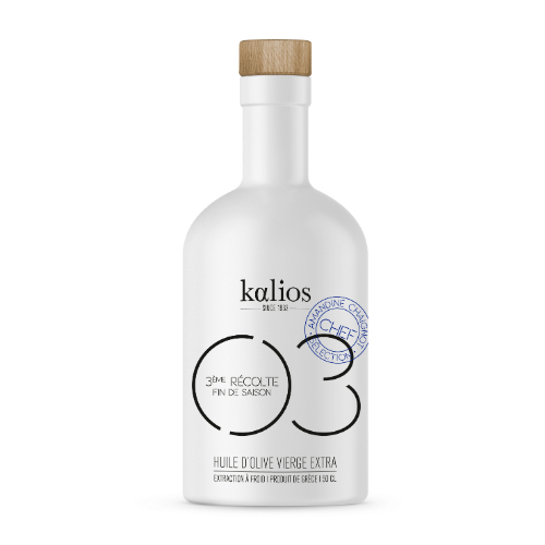 Kalios Extra virgin olive oil ceramic bottle 03 500ml
