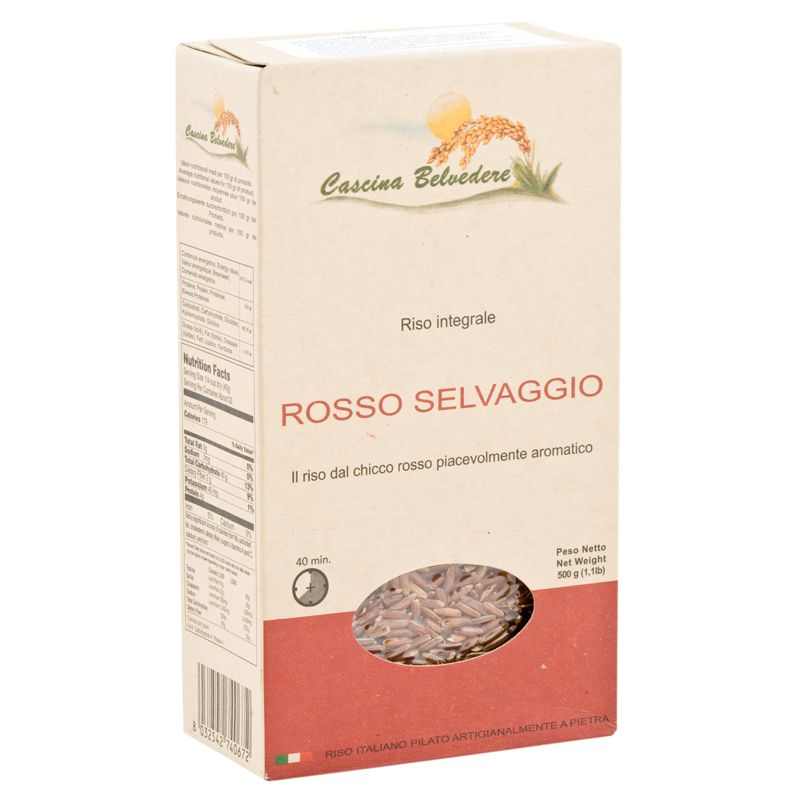 C.Belvedere Wholemeal Red Rice 500g