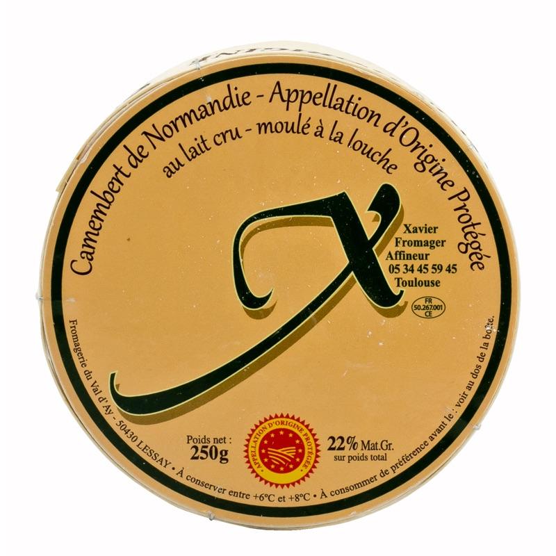 FR Camembert Xavier 250g XAV