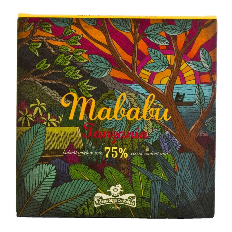 Rózsavölgyi Mababu Tanzania 75% 70g