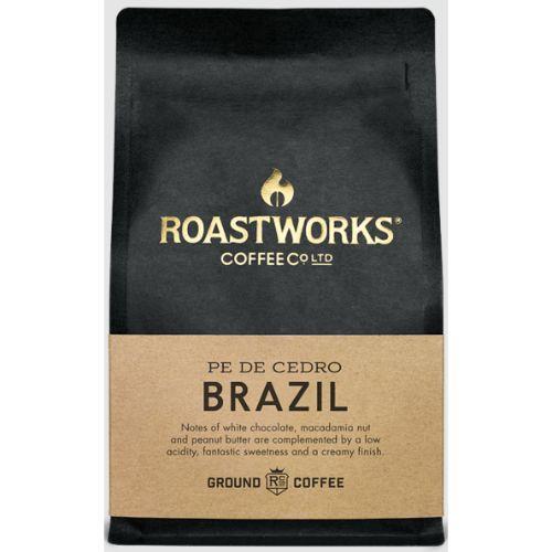 Roastworks Coffee Brazil Ground 200g