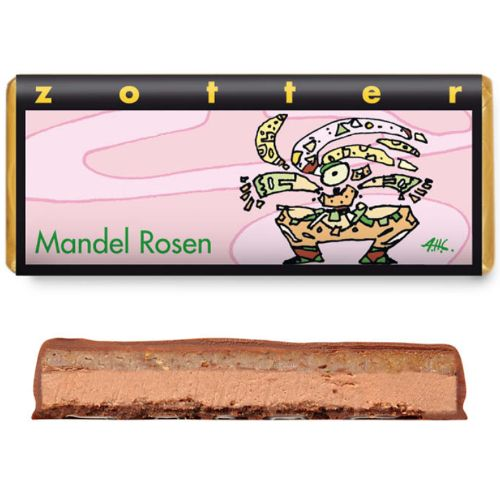 Zotter Almond Roses 70g
