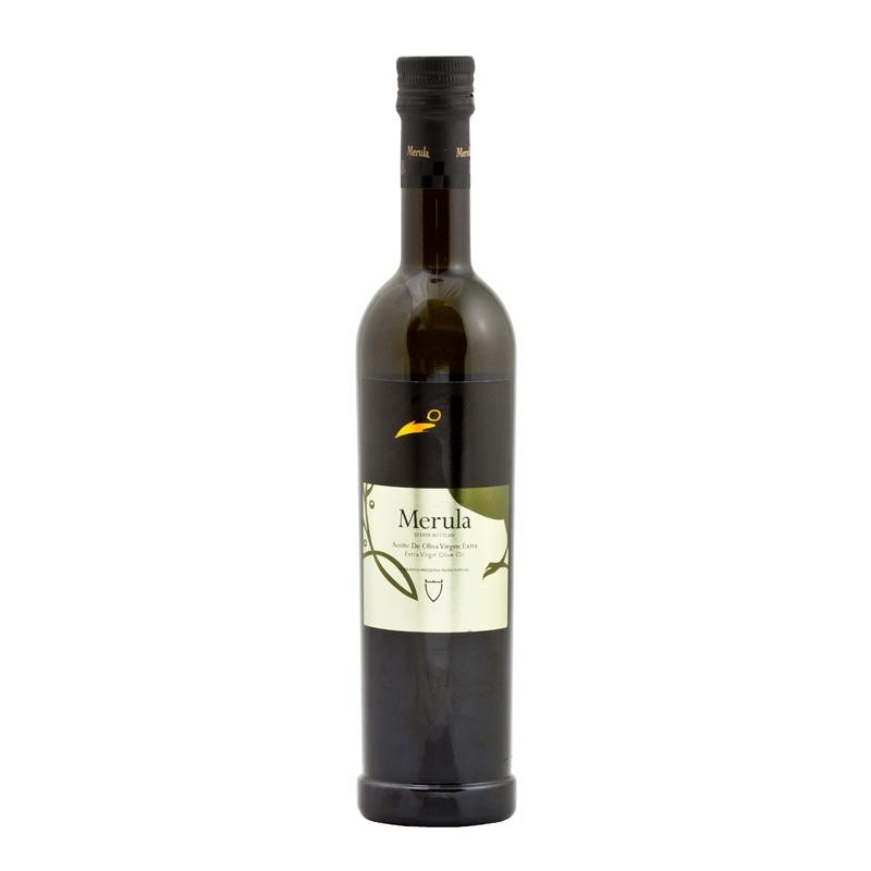 Merula Extra Virgin Olive Oil in glass bottle 500ml