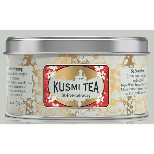 Kusmi St Petersburg Organic Loose Black Tea Tin 125g