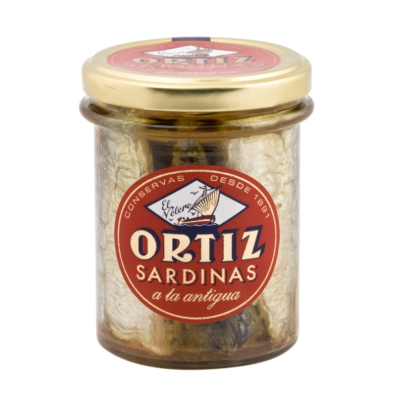 Ortiz Sardines Antigua in olive oil 190g
