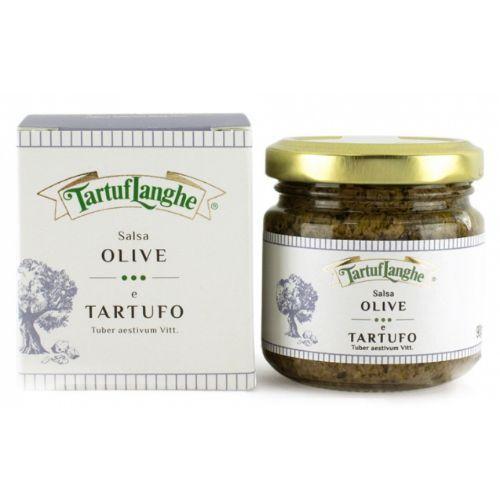Tartuflanghe Tapenade with black truffle 180g