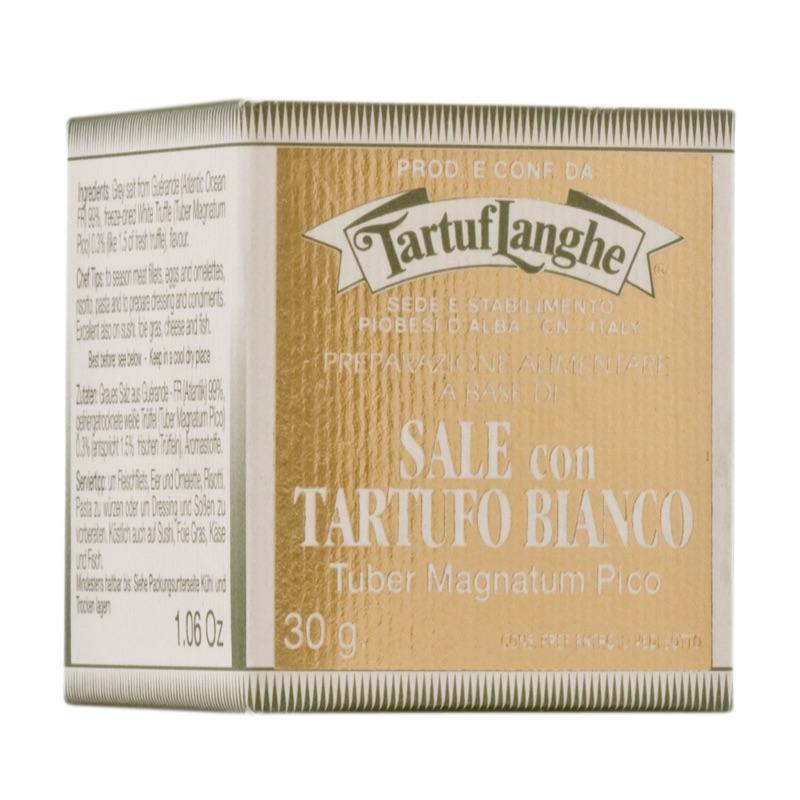 TartufL Magnatum White truffle salt 30g