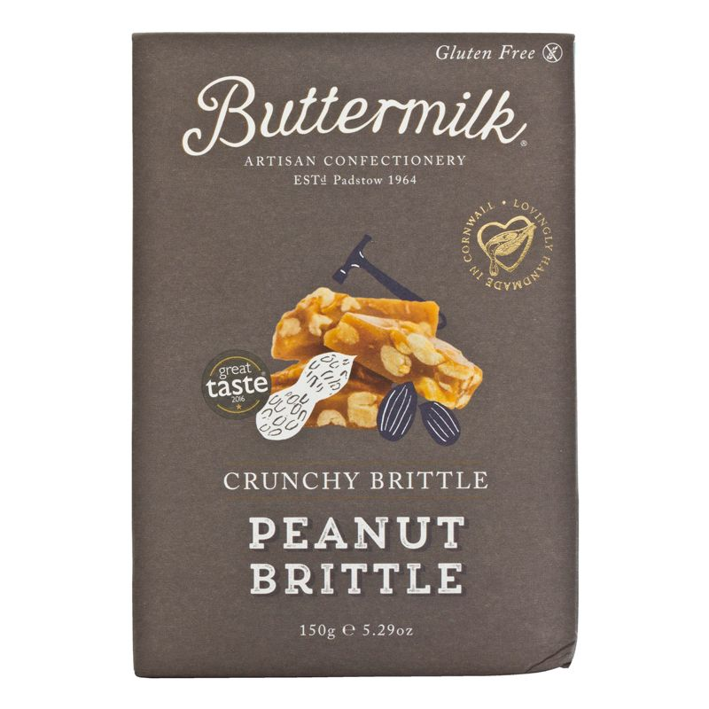 Buttermilk Fudge Peanut Brittle 150g