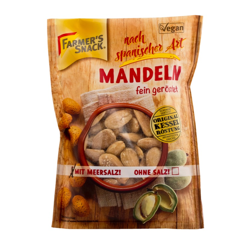 Farmer's Almonds Spanish-Style roasted and salted 100g