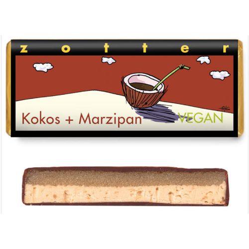 Zotter Coconut + Marzipan Vegan 70g