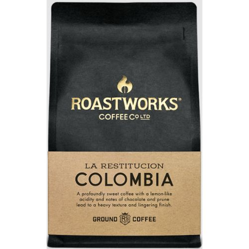 Roastworks Coffee Colombia Ground 200g