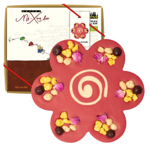 Zotter Mi-Xing Flower with Vanilla Filling 100g