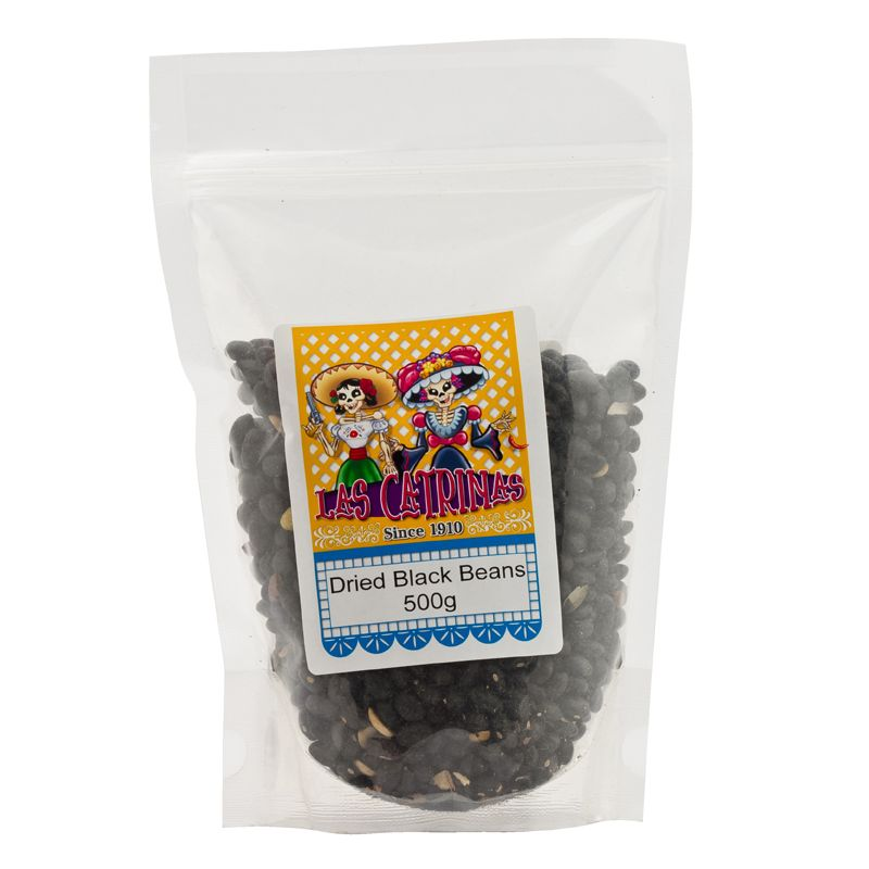 Las Catrinas Dried Black Beans 500g