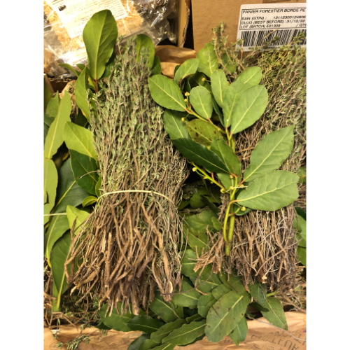 Thyme & Bay leaves bunch