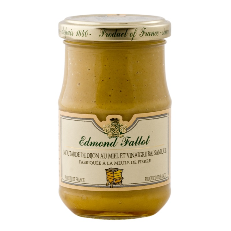 E.Fallot Dijon Mustard with Honey and Balsamic Vinegar 210g